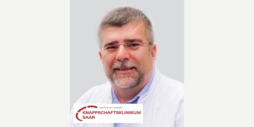 Wir begrüßen Dr. Jürgen Guldner und das Knappschaftsklinikum Saar