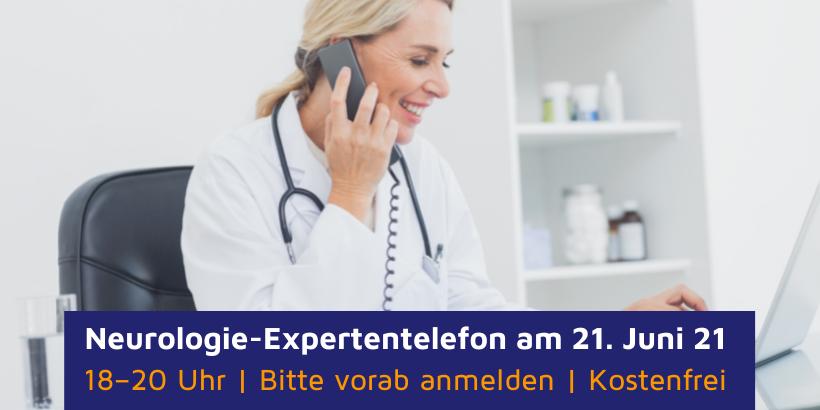 Neurologie-Expertentelefon am 21. Juni (u.a. zu ALS)
