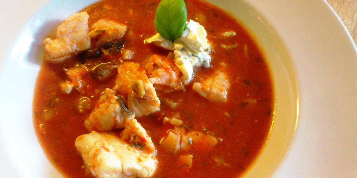 Essen fürs Hirn: Mediterraner Fischtopf